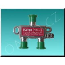 Anténní rozbočovač Toner DSU-2, 2x 3.5 dB