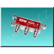 Anténní rozbočovač Toner XGFS-2, 2x 3.5 dB