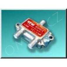 Anténní rozbočovač Toner XGHS-2, 2x 3.5 dB