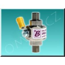Širokopásmová koaxiální přepěťová ochrana SPKO-F75-SAT/TV-B/F-F