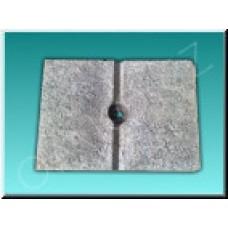 Betonová zátěž k trojnožce, vibrační výroba