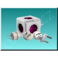 PowerCube Rewirable + Travel Plugs, cestovní adaptér