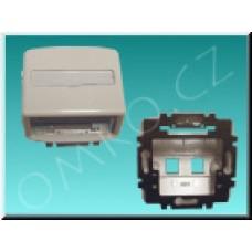 Kryt datové zásuvky JBT K 5014A-A100 B, bílý