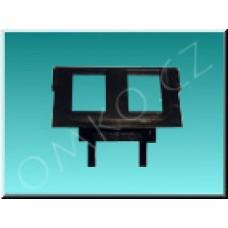 Maska nosná JBT M 5014A-B1018 pro datovou zásuvku, 2 otvory