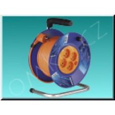 Prodlužovací kabel EMOS E-035 na bubnu, 30m, 230V, 4 zásuvky