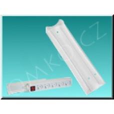 Držák vícenásobné zásuvky Solight PX02