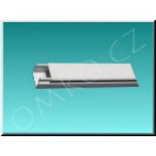 Lišta vkládací PPF 40x20, 2m, bílá