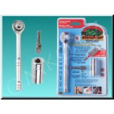 Univerzální klíč Gator Grip ETC-200, 7-19 mm, sada s ráčnou