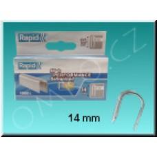 Spona Rapid pro uchycení kabelu, délka 14mm