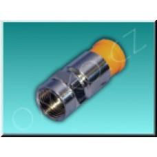 Konektor F 5mm - lisovací