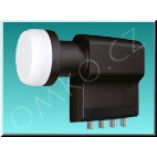 LNB konvertor Inverto Black Premium Quad 0,2dB