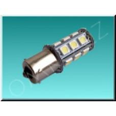 LED autožárovka TechniLED BA15S-N3CC, 3W, studená bílá, čirá