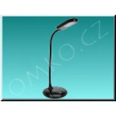LED stolní lampa Solight WO30B, černá, 5W, 300lm, 4100K, dotyková