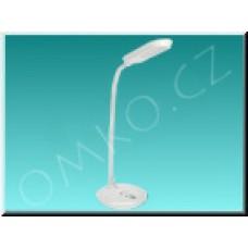 LED stolní lampa Solight WO30W, bílá, 5W, 300lm, 4100K, dotyková