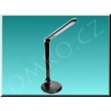 LED stolní lampa Solight WO31B, šedočerná, 8W, 450lm, 5300K, dotyková
