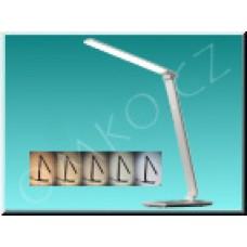 LED stolní lampa Solight WO37-W, bílá, max 12W, 700lm, 3000K-6000K, dotyková