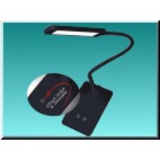 LED stolní lampa EMOS EDDY Z7599B, černá, 6W, 360lm, 4100K, dotyková