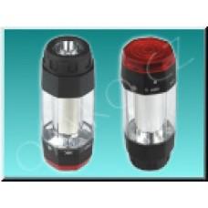 LED svítilna Solight WL32, černočervená, 2 barvy