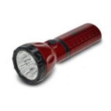 Nabíjecí LED svítilna Solight WN10, 9 x LED, 800mAh, červenočerná