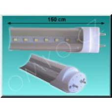 LED trubice TechniLED T8-150S24C, 150 cm, 24W, studená bílá, čirá