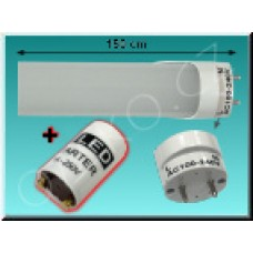 LED trubice TechniLED T8-150N24M-S42, 150 cm, 24W, T8, 4200K, mléčná
