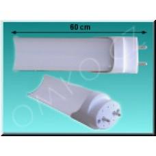 LED trubice TechniLED T8-60N9M, 60 cm, 9W, neutrální bílá, mléčná