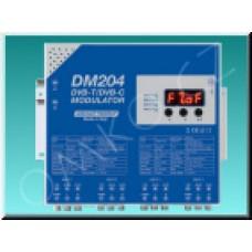 Čtyřkanálový DVB-T/DVB-C modulátor LEM DM204