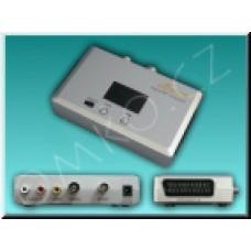 Audio/Video Modulátor SIGNAL UHF, scart vstup a výstup