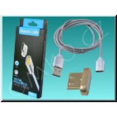 Magnetický Micro USB nabíjecí a datový kabel NixCOM pro Android, 1m