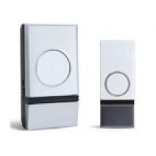 Domovní bezdrátový zvonek Solight 1L28, dosah 200m, 32 melodií, možnost párování, bílý