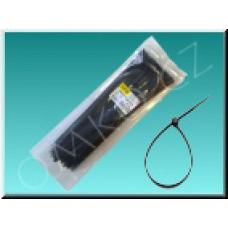 Stahovací páska Wapro CV-292W, 292 x 3,6mm, černá, 100ks