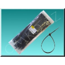 Stahovací páska Wapro CV-310W, 300 x 4,8mm, černá, 100ks