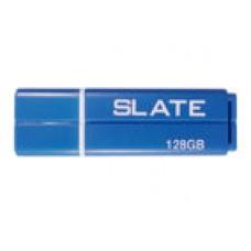 USB flashdisk Patriot Slate 128GB, USB 3.0, modrý