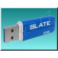 USB flashdisk Patriot Slate 32GB, USB 3.0, modrý