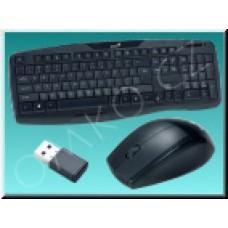 Set Genius KB-8000X, bezdrátová klávesnice a myš, černý