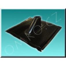 Hliníková střešní taška Schwaiger ADH 4260 001, černá