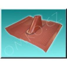 Hliníková střešní taška Schwaiger ADH 4261 001, červená