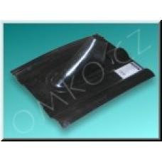 Plastová střešní taška Schwaiger KDH 48, černá