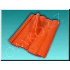 Plastový stožárový nástřešák (frankfurtská taška červená)