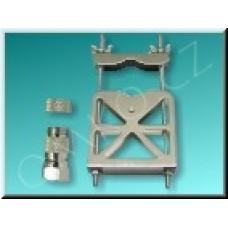 Upevňovací třmen na stožár Schwaiger MAB 3000 pro anténu DTA 2000 a DTA 3000