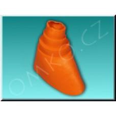 Těsnící PVC manžeta Schwaiger PDM 4261, červená