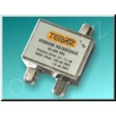 Anténní rozbočovač Teroz T 102 X, 2x3,5dB